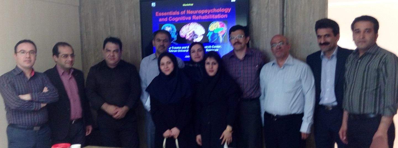 اولین کارگاه مبانی نوروسایکولوژی بالینی و توانبخشی شناختی